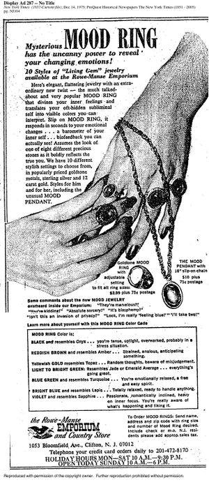 Mood Ring - Dead Media Archive