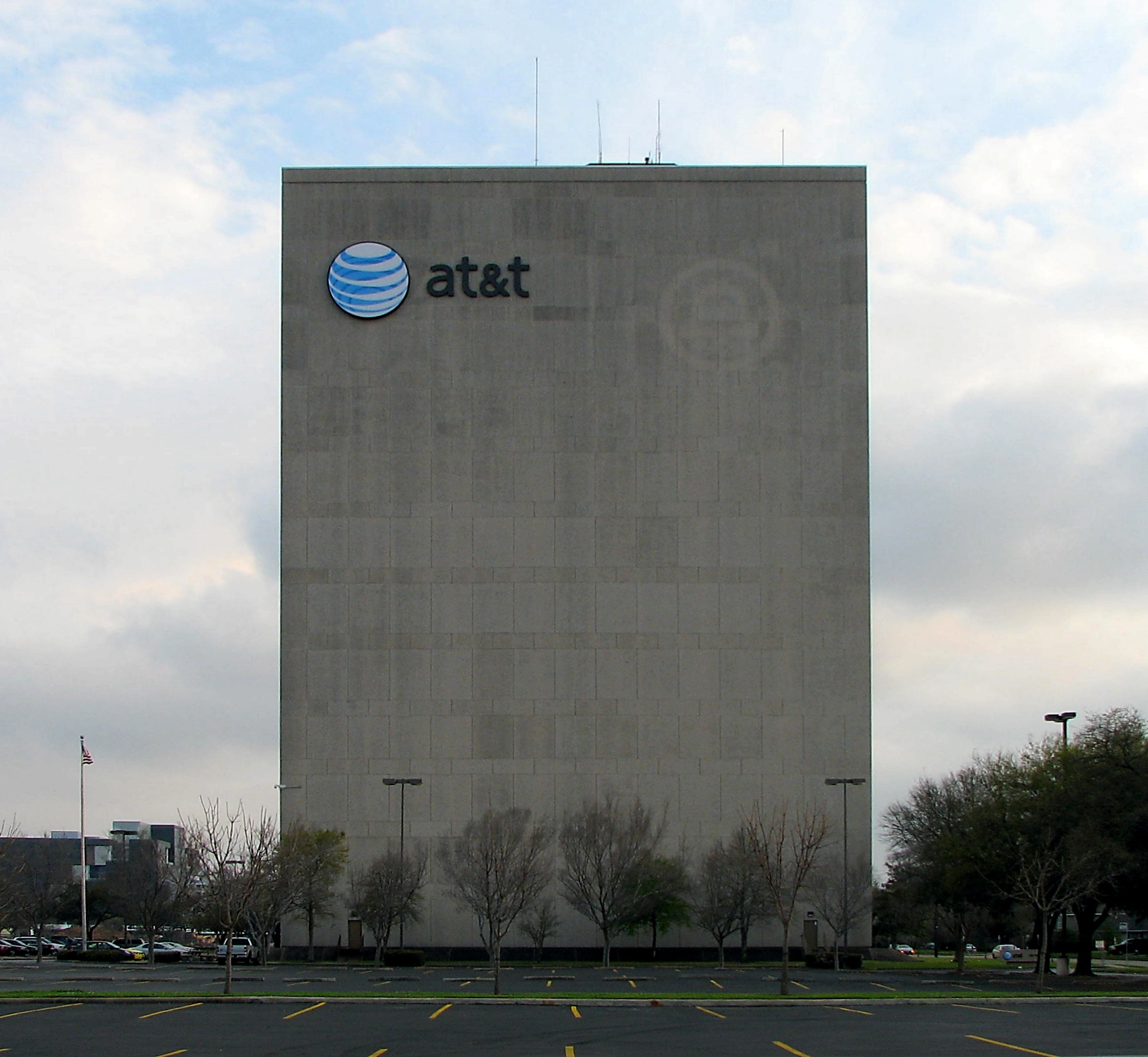 At&t Building In Houston