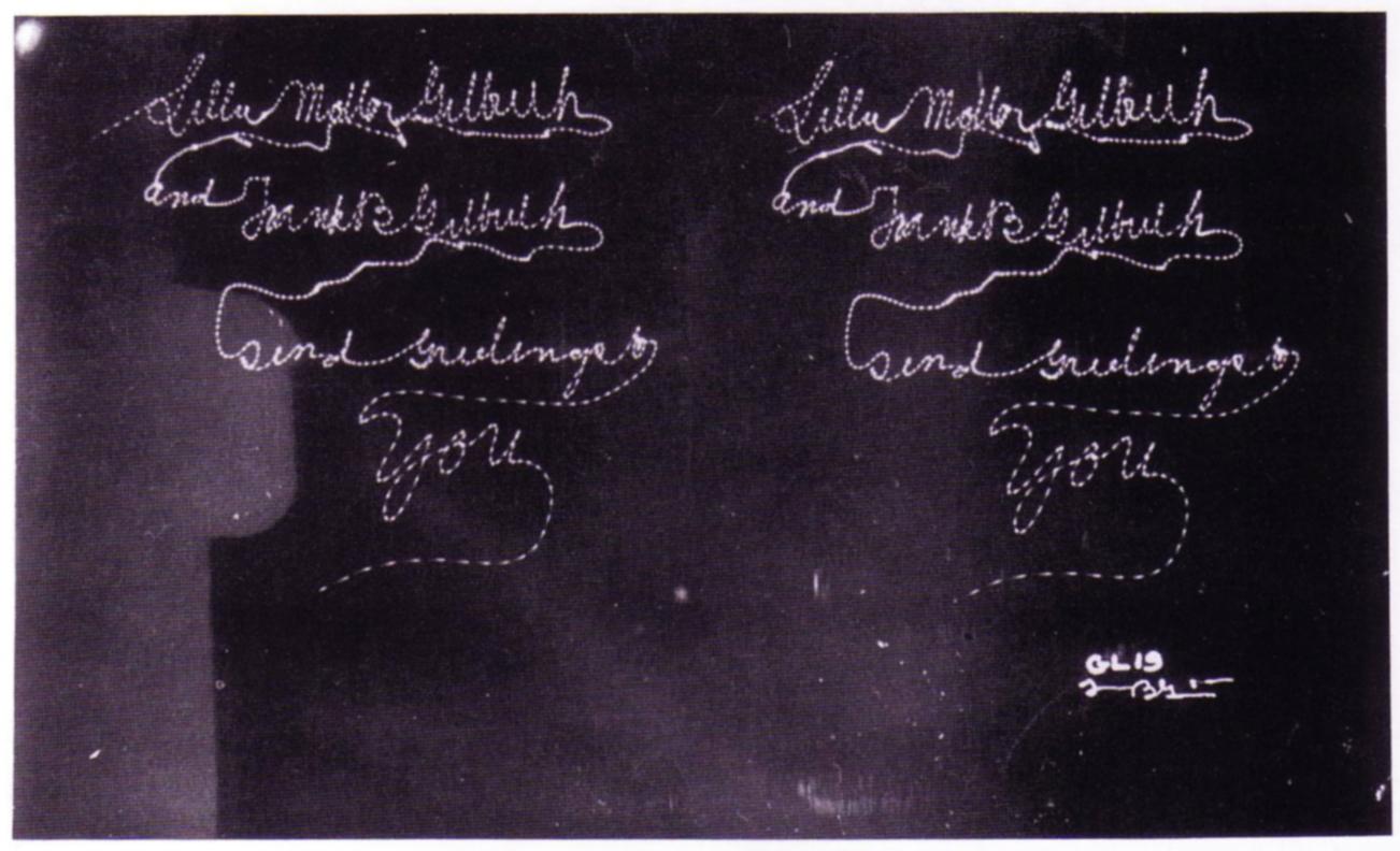 Lillian And Frank Gilbreth,